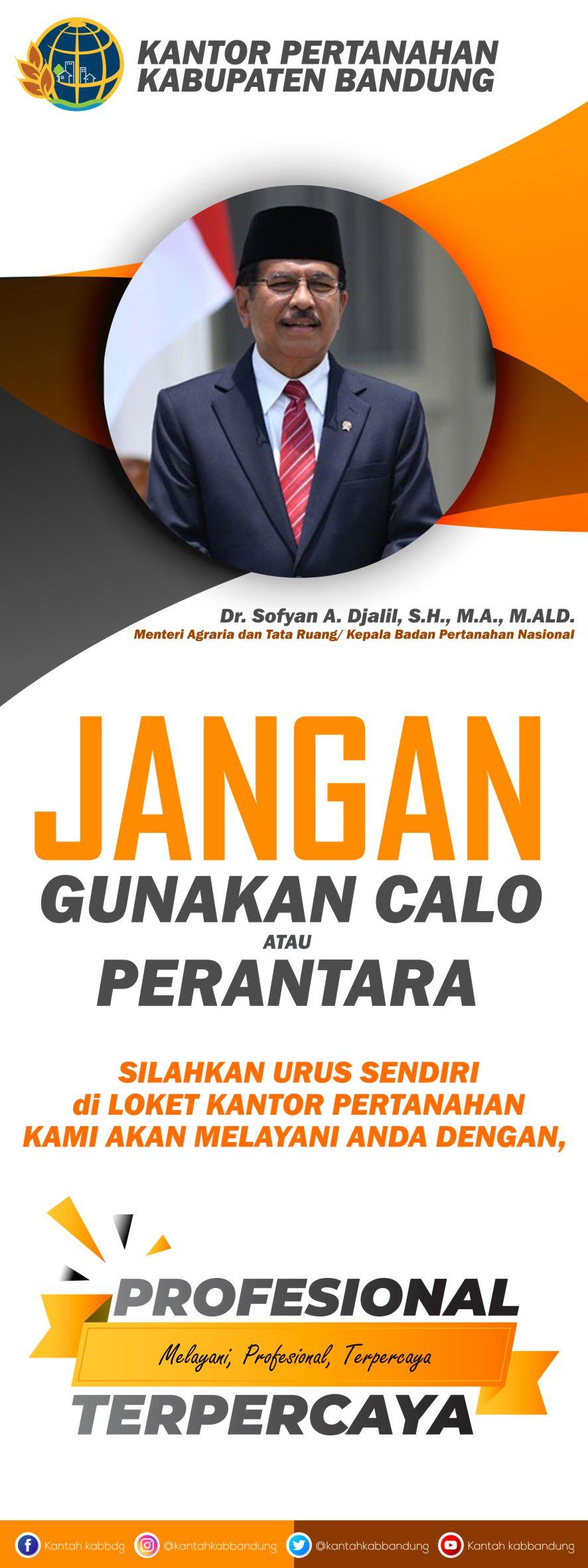 Anda berminat mencetak seperti X Banner Edukasi dari Kantah / BPN Kabuputen Bandung? Hubungi 085721109590.